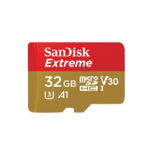 SanDisk Extreme® microSD 32GB UHS-I Card (V30, 100MB/s)