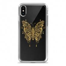 Mi A2 Lite Gold Butterfly Back...