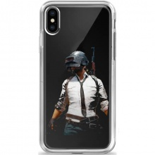 Mi A2 PUBG Abstract Back Cover